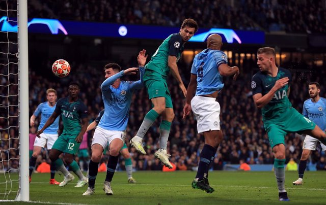 UEFA Champions League - Manchester City vs Tottenham Hotspur