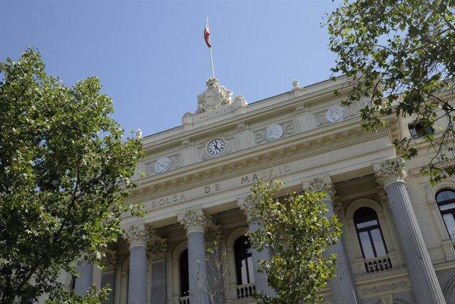 Fotos de recurso del Palacio de la Bolsa de Madrid