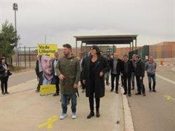 Rufián celebra el seu míting a la presó i desafia Sánchez, Casado i Rivera a imitar-lo (EUROPA PRESS)