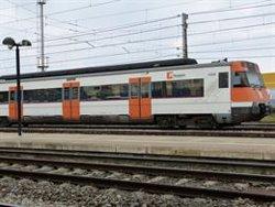 Restablerta la circulació de la línia R4 de Rodalies després d'un atropellament mortal (EUROPA PRESS - Archivo)