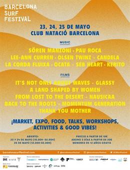El Barcelona Surf Film Festival commemora l'estil de vida surfista en una nova edició