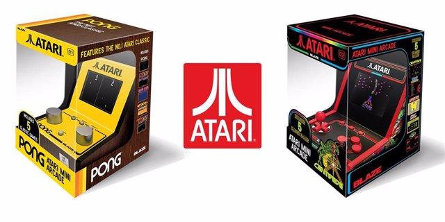 Atari presenta dos versiones de su consola retro Mini Arcade inspirada en los clásicos Pong y Centipede