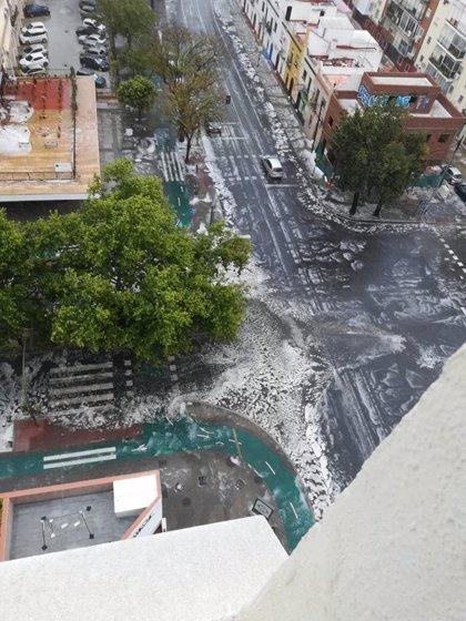 Más de un centenar de incidencias gestionadas por el 112 en la provincia de Sevilla por el temporal