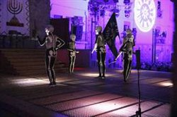 EMBARGAT:5.000 persones es concentren a Verges per veure la Dansa de la Mort (ACN)