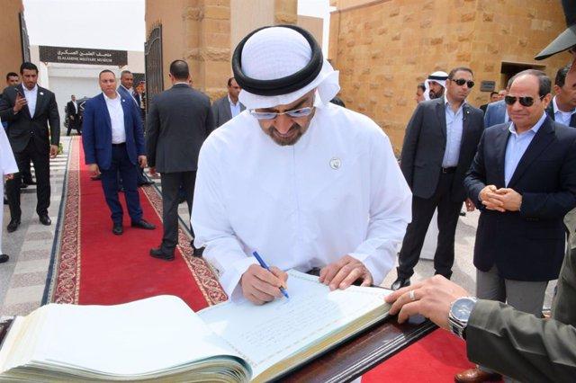 Crown Prince of Abu Dhabi Mohammed bin Zayed visits Egypt