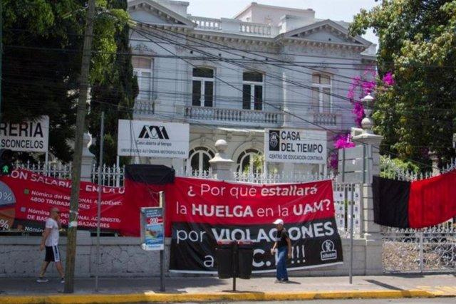 Se cumplen 76 días de huelga en la UAM y las negociaciones siguen estancadas