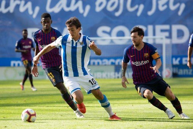 Fútbol/Liga Santander.- Previa del FC Barcelona - Real Sociedad