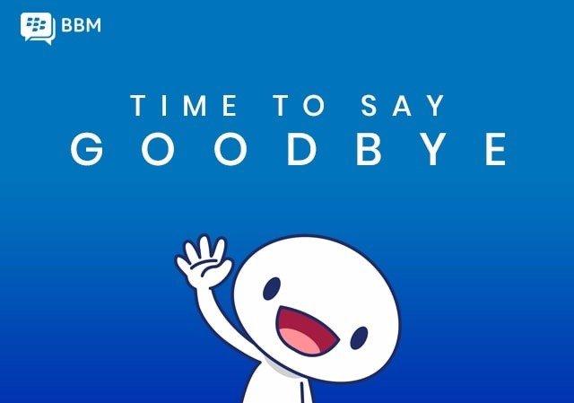 La 'app' de mensajería BlackBerry Messenger (BBM) desaparecerá el 31 de mayo