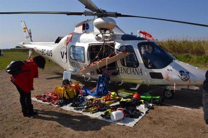 Emergencias de la Generalitat coordina en 2018 un total de 262 servicios de búsqueda, salvamento y rescate