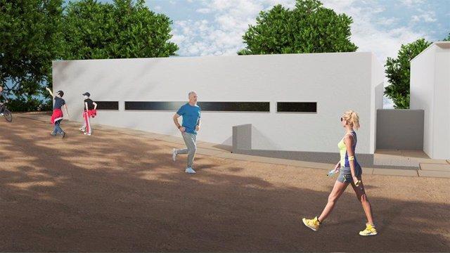 Sevilla.- Supera.- Cazalla ultima la contratación de su centro para deportistas con piscina climatizada terapéutica