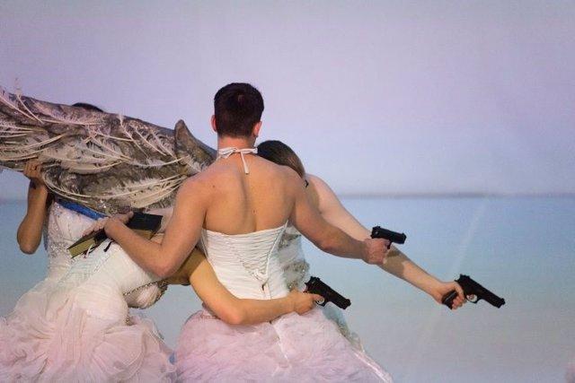 La emblemática figura de la danza alemana VA Wölfl estrena en Naves de Matadero uno de sus últimos trabajos