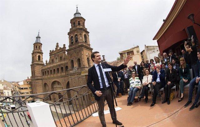 """28A.- Casado Pide Pensar En La """"Patria"""" Antes De Votar Para Echar A Sánchez Y La """"Tropa"""" De Independentistas Y Batasunos"""