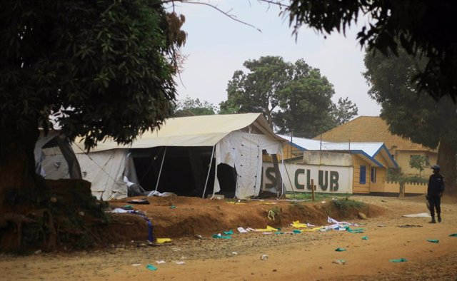 Centro contra el ébola afectado por las protestas en Beni