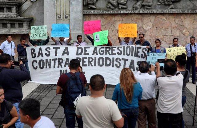México, en el puesto 144 de 180 en libertad de prensa en el mundo, según Reporteros Sin Fronteras