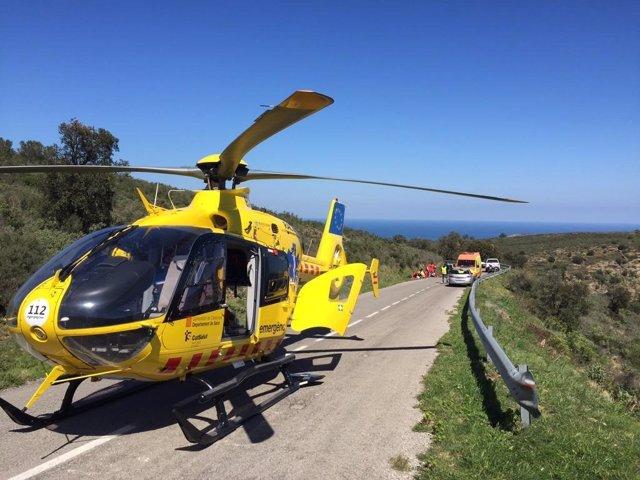 Successos.- Mor un excursionista en caure en baixar d'una ermita a Tremp (Lleida)