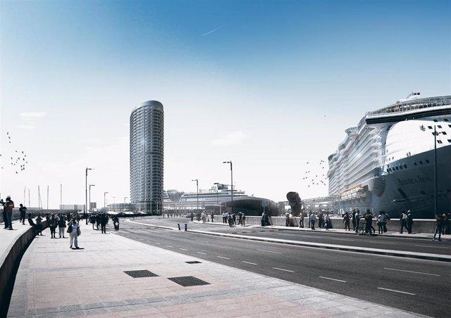 """El alcalde de Málaga dice que no es una sorpresa que haya alegaciones al hotel del puerto y se estudiarán """"con respeto"""""""