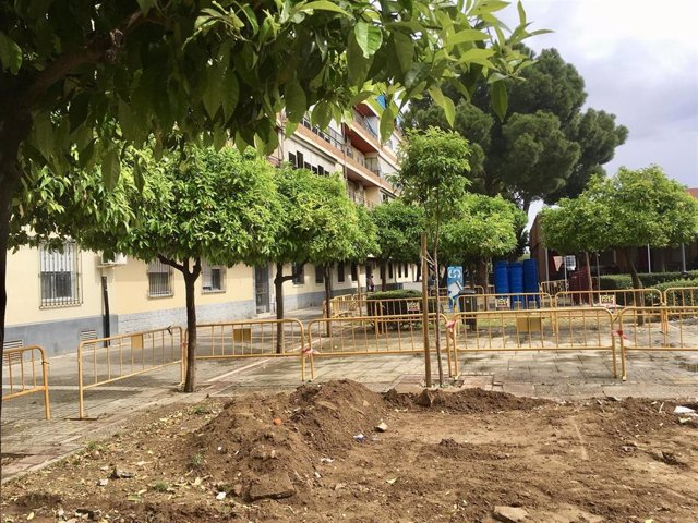 Sevilla.- Ayuntamiento inicia la segunda fase de la renovación de la Plaza Padre Castro