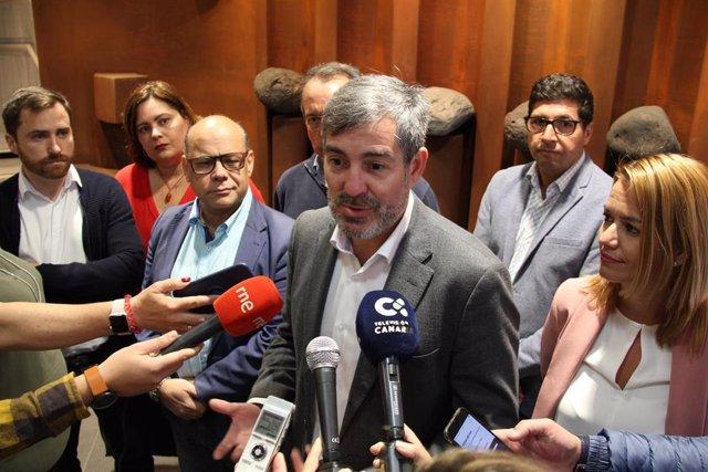 """26M.- Clavijo Ve Un """"Fraude"""" Que Los Candidatos A Presidir Canarias No Encabecen La Lista Regional"""