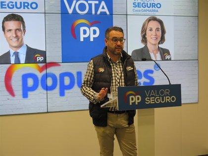 """28A.- """"Solo si gobierna el PP se garantiza la unidad de España y para eso hay que votar al PP y no a otras opciones"""""""