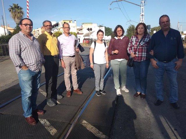 """Córdoba.-28A.- Unidas Podemos muestra su """"total apoyo"""" a las reivindicaciones de la plataforma 'Vías Fuera de Alcolea'"""