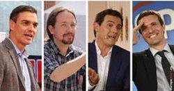 El debat a RTVE l'obrirà Rivera i el tancarà Sánchez, segons el sorteig celebrat aquest dissabte (EUROPA PRESS)