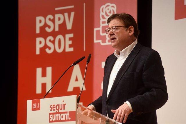 """Puig asegura que la reversión del Departamento de Salud de Dénia (Alicante) """"está activada y ya es irreversible"""""""