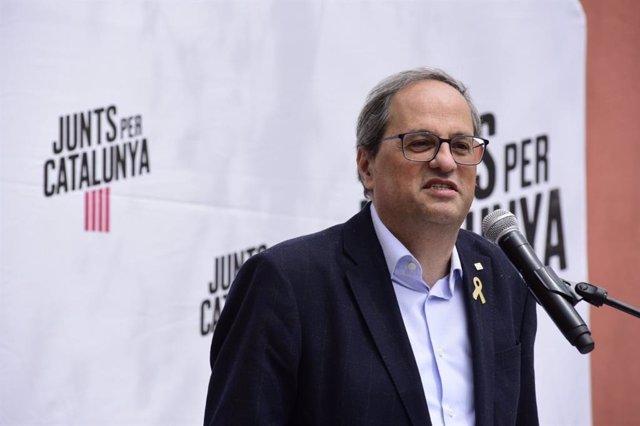 """28A.- Torra: """"Aquest País Vol Desborbonizarse, Vol Ser Una República Catalana"""""""