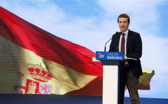 Mitin del Partido Popular en el Auditorio de la Diputación de Alicante