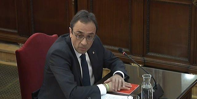 Nterrogatorio A Josep Rull En El Judici Pel 'Procés'