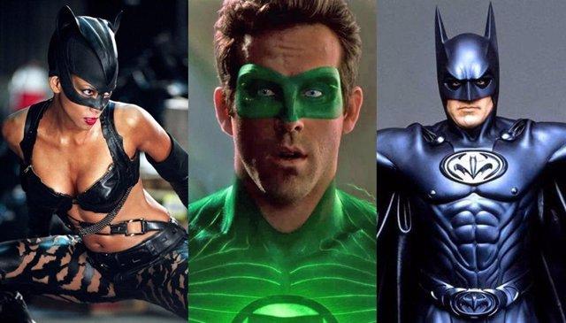 PARA SÁBADO Los 15 peores trajes de películas de superhéroes