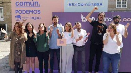 """Yolanda Díaz (En Común) propone como """"primera medida"""" intervenir el precio de la energía"""