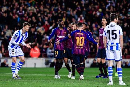 Crónica del FC Barcelona - Real Sociedad, 2-1