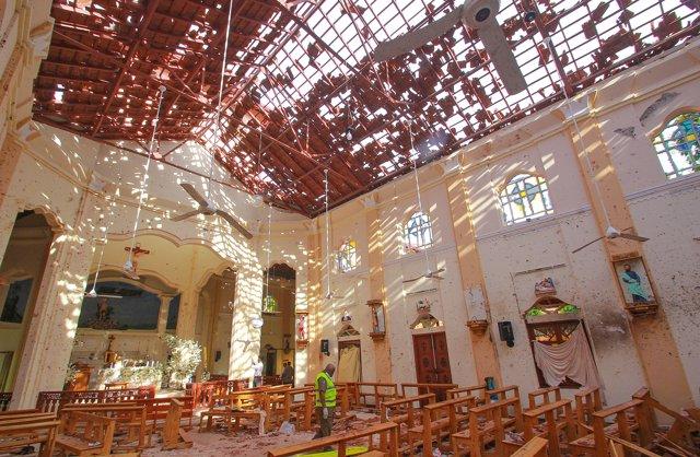 Sri Lanka.- Una cadena de explosiones en iglesias y hoteles de lujo deja al menos 138 muertos y 400 heridos en Sri Lanka