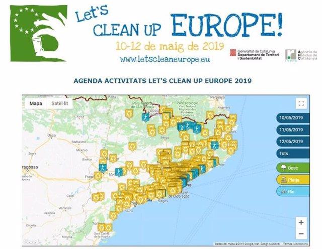 Catalunya acollirà 297 accions de neteja d'espais naturals al maig