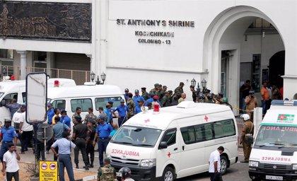 Las imágenes de los ataques en iglesias y hoteles en Sri Lanka