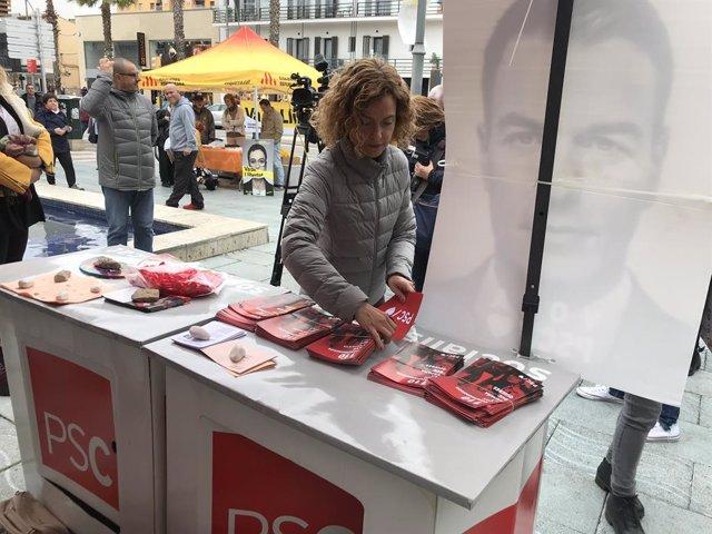 """28A.- Batet Demana Evitar """"Intermediaris"""" Com a ERC I Apostar Per Sánchez En Les Urnes"""