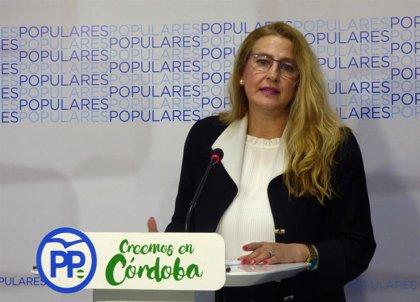 """Isabel Cabezas asegura en Córdoba que el PP """"es garantía de las reformas políticas que España necesita"""" tras el 28A"""