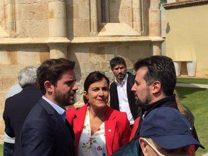 """Tudanca confía en que CyL """"sea la vanguardia del cambio que necesita España"""""""