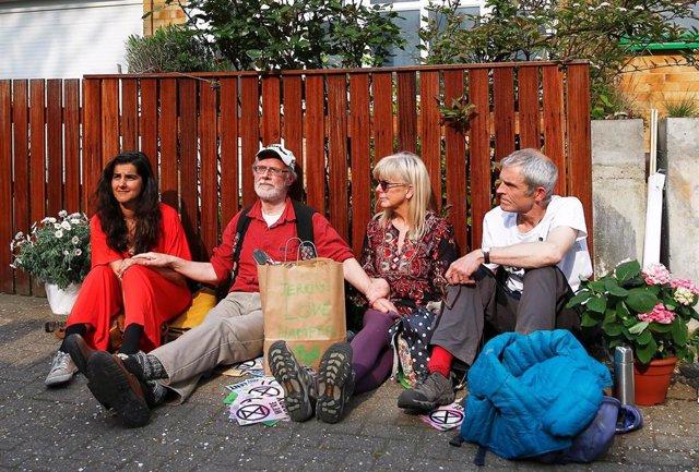R.Unido.- Más de 300 detenidos en Londres tras tres días de protestas contra el cambio climático