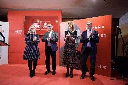 """Lambán (PSOE) asegura que a Aragón el Gobierno de Pedro Sánchez """"le ha sentado de maravilla"""""""