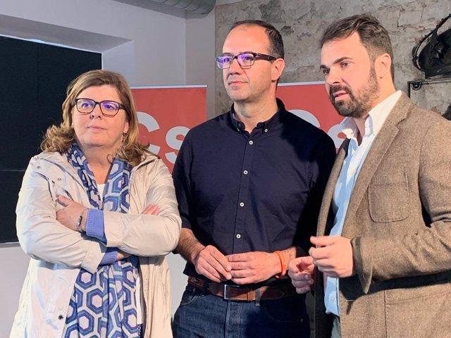 """28A.- Polo Asegura Que Los Diputados De Ciudadanos """"Defenderán"""" A Extremadura, """"Cosa Que No Han Hecho PP Ni PSOE"""""""
