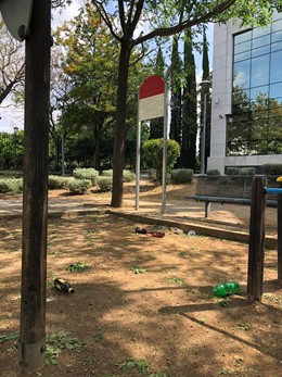 """Sevilla.- El PP critica el """"abandono"""" de los parques de Nervión y que han sido """"tomados por la botellona"""""""