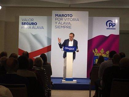 """El PP cree que PNV """"ve una oportunidad en Sánchez para volver a los tiempos del Plan Ibarretxe"""""""