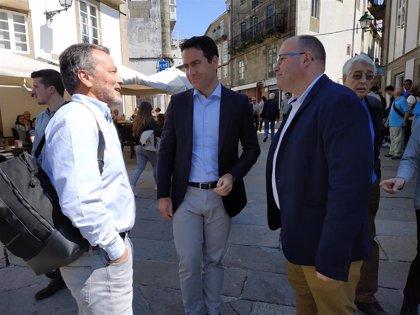 """García Egea pide aglutinar el voto en el PP: """"Si gana Sánchez, el AVE a Galicia va a estar en manos de Junqueras"""""""