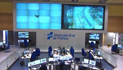 La A-6 comienza a registrar en la Operación Retorno un par de kilómetros de congestión a la altura de Torrelodones