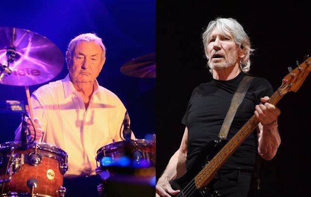 Pink Floyd Roger Waters y Nick Mason Nueva York
