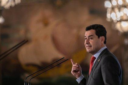 Moreno firma con Vivas e Imbroda un acuerdo de colaboración de la Junta con Ceuta y Melilla