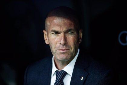 """Zidane: """"Para mí Benzema es el mejor 'nueve' del mundo, pero luego cada uno que opine"""""""