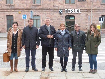El PP apuesta por la doble vía electrificada en el trazado Zaragoza-Teruel-Sagunto