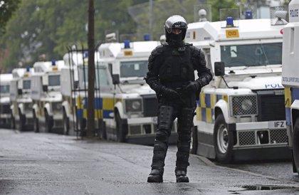 En libertad los dos detenidos por el asesinato de una periodista durante los disturbios en Irlanda del Norte